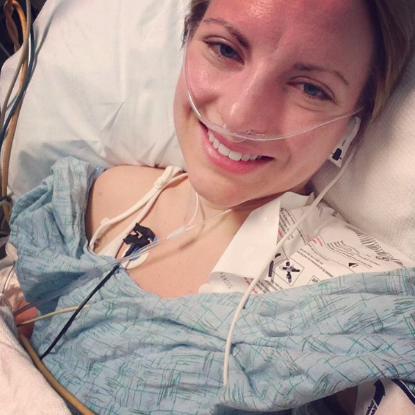 Surviving anesthesia-induced seizures from a nerve block
