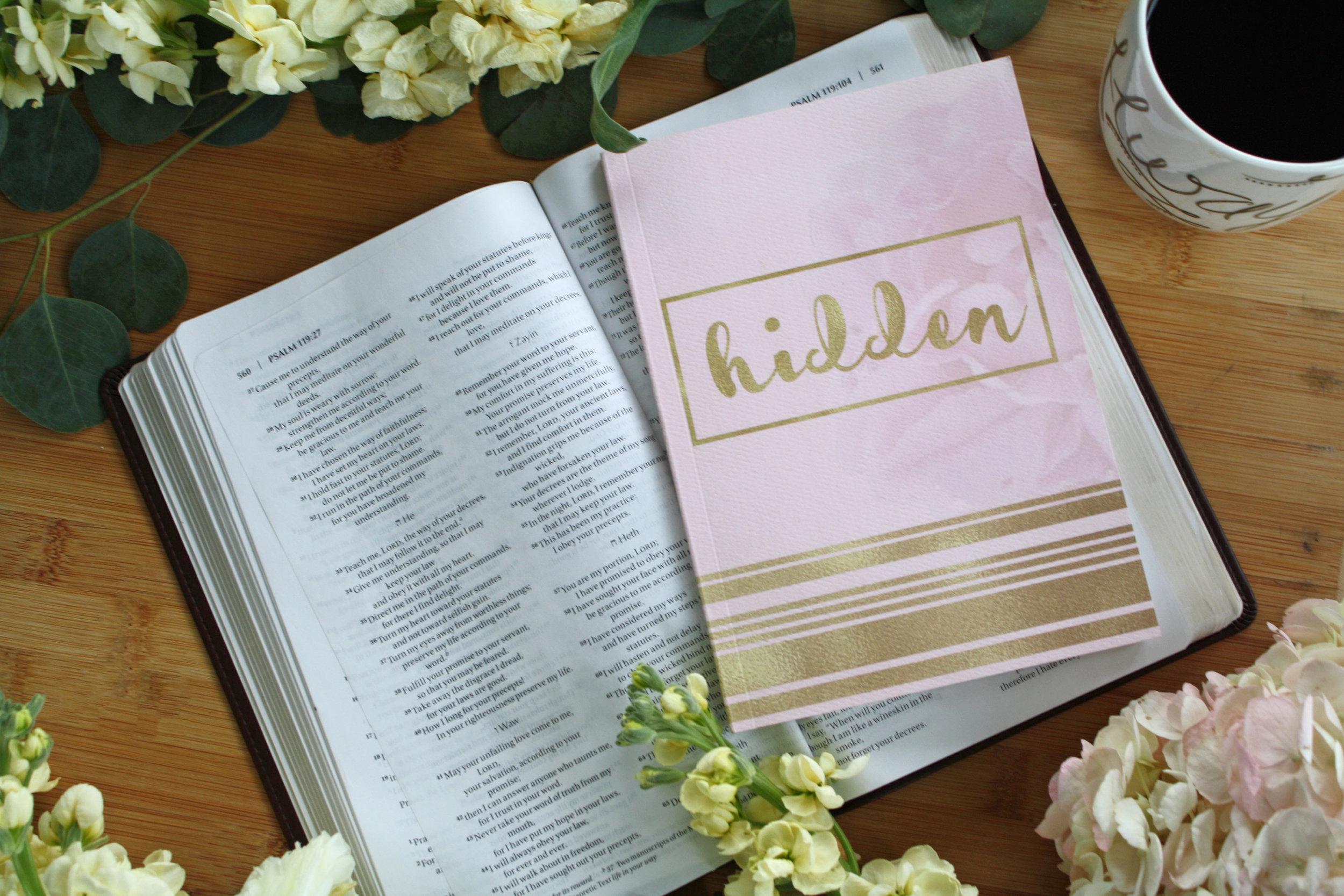 Hidden Scripture Memory Journal_Becky Bennett_To Choose Joy
