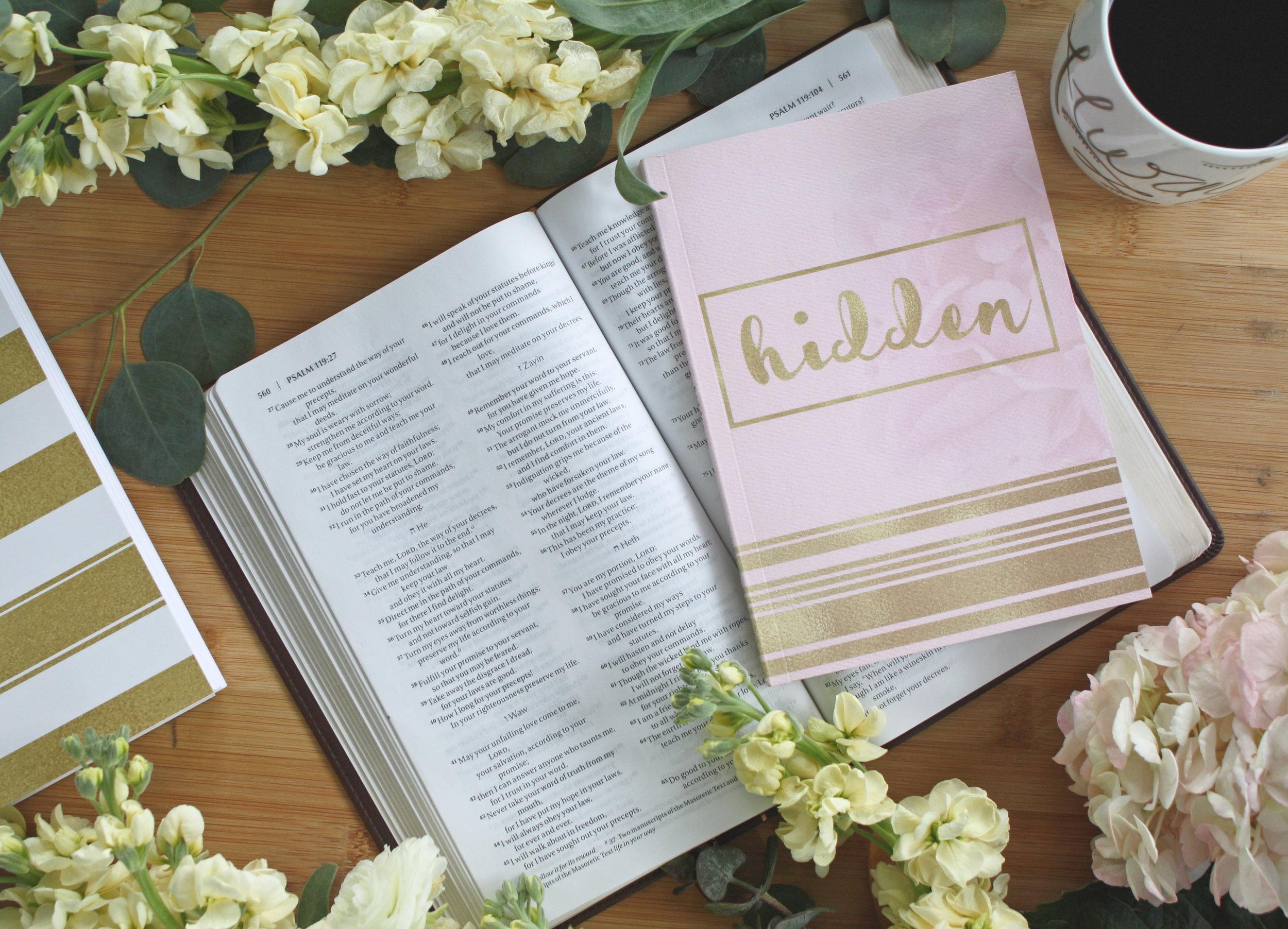 Hidden Scripture Memory Journal_Becky Bennett_Choose Joy