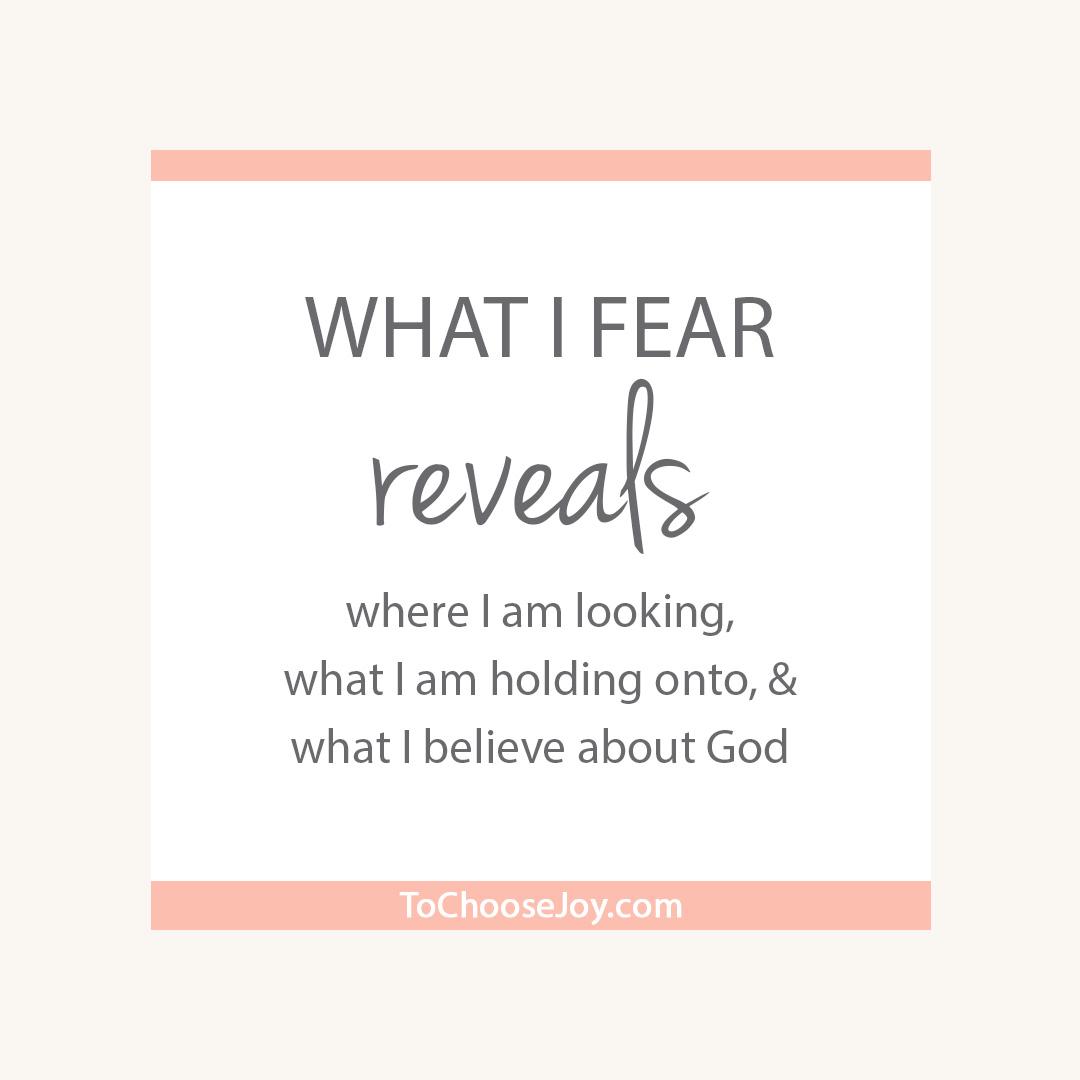 What Fear Reveals_Election 2016_Choose Joy
