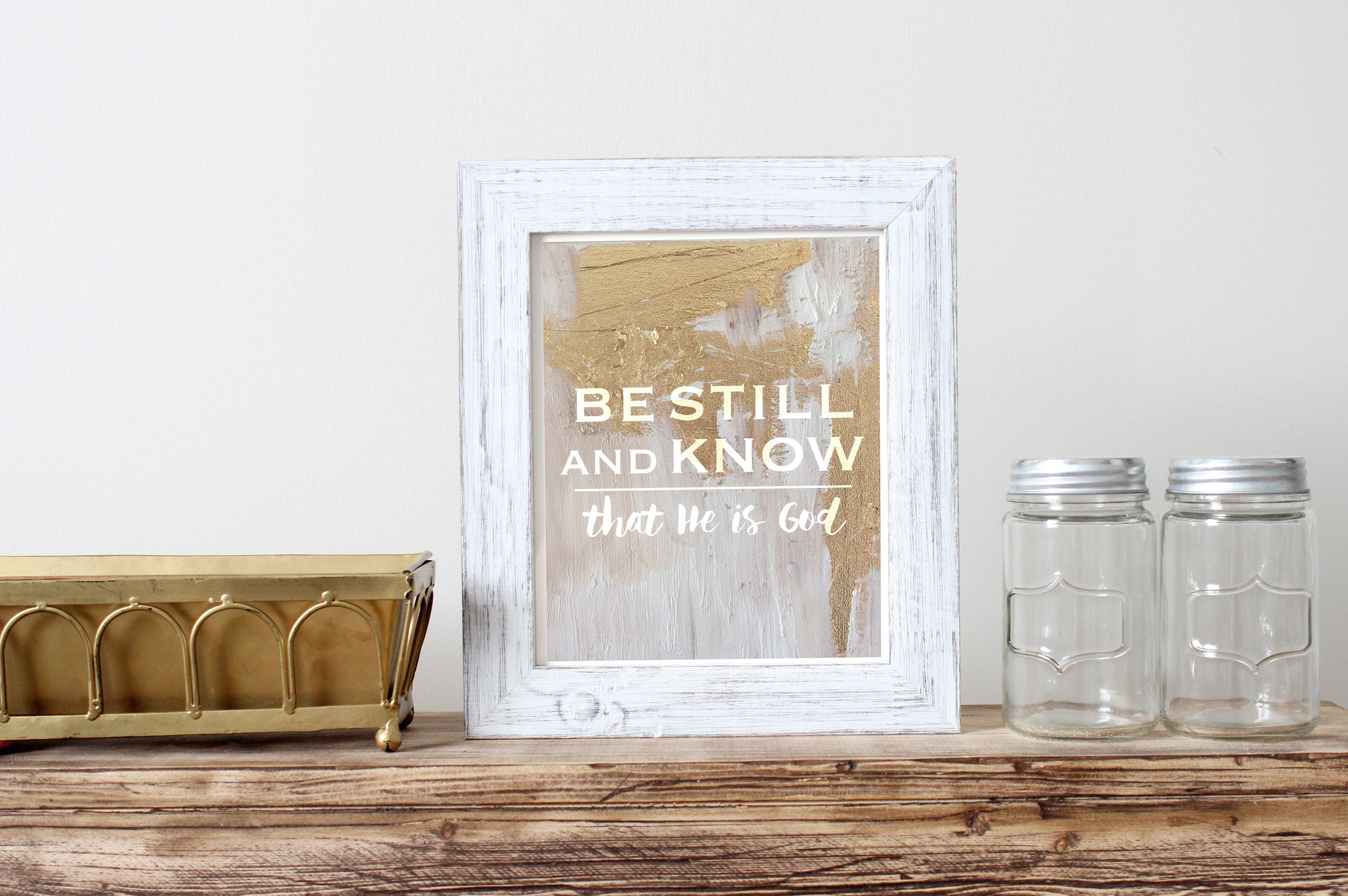 """{"""" Be Still and Know """" Print is available at the    To Choose Joy Shop   }"""