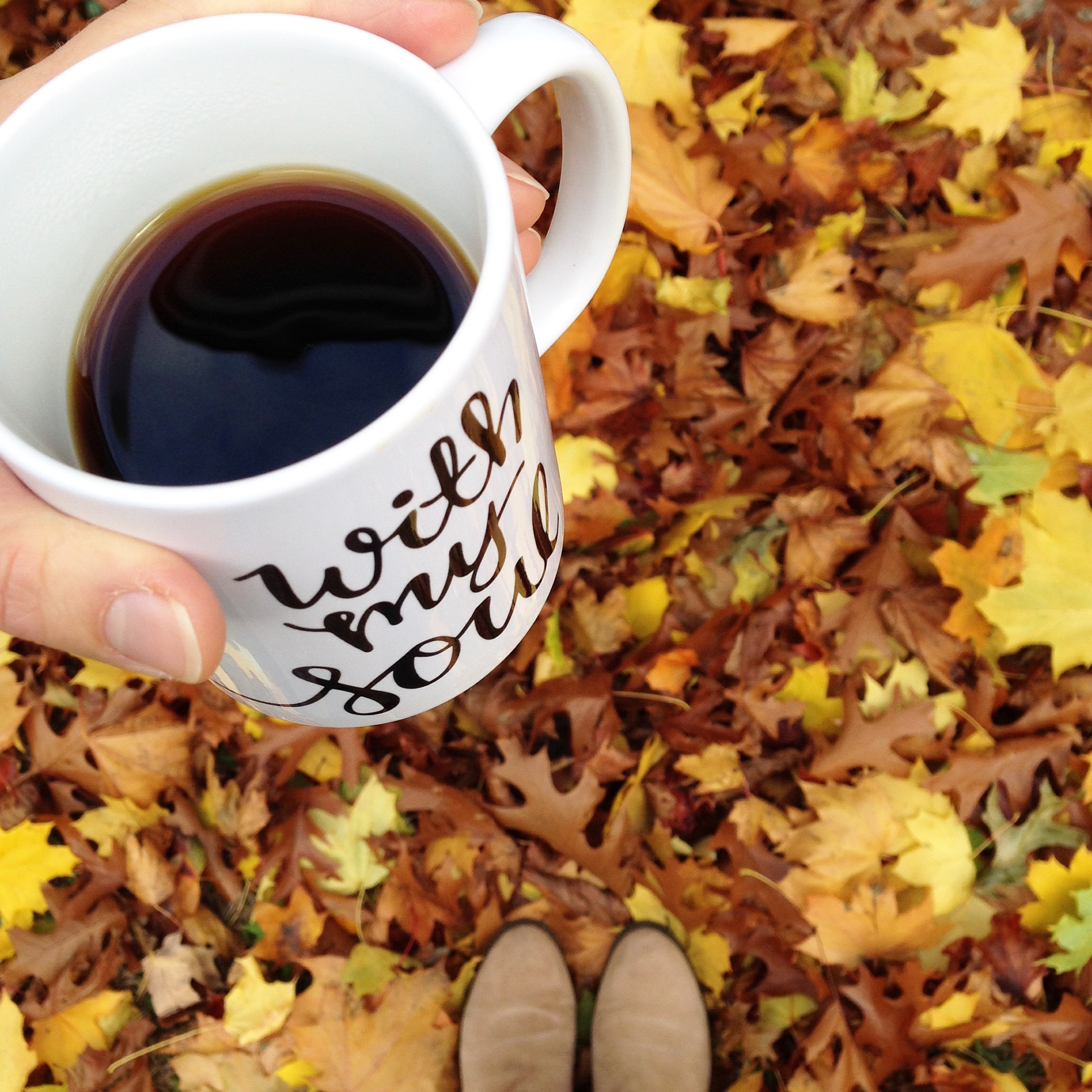"""{"""" It Is Well """"  Mug  is available at     L       ife Lived Beautifully   }"""