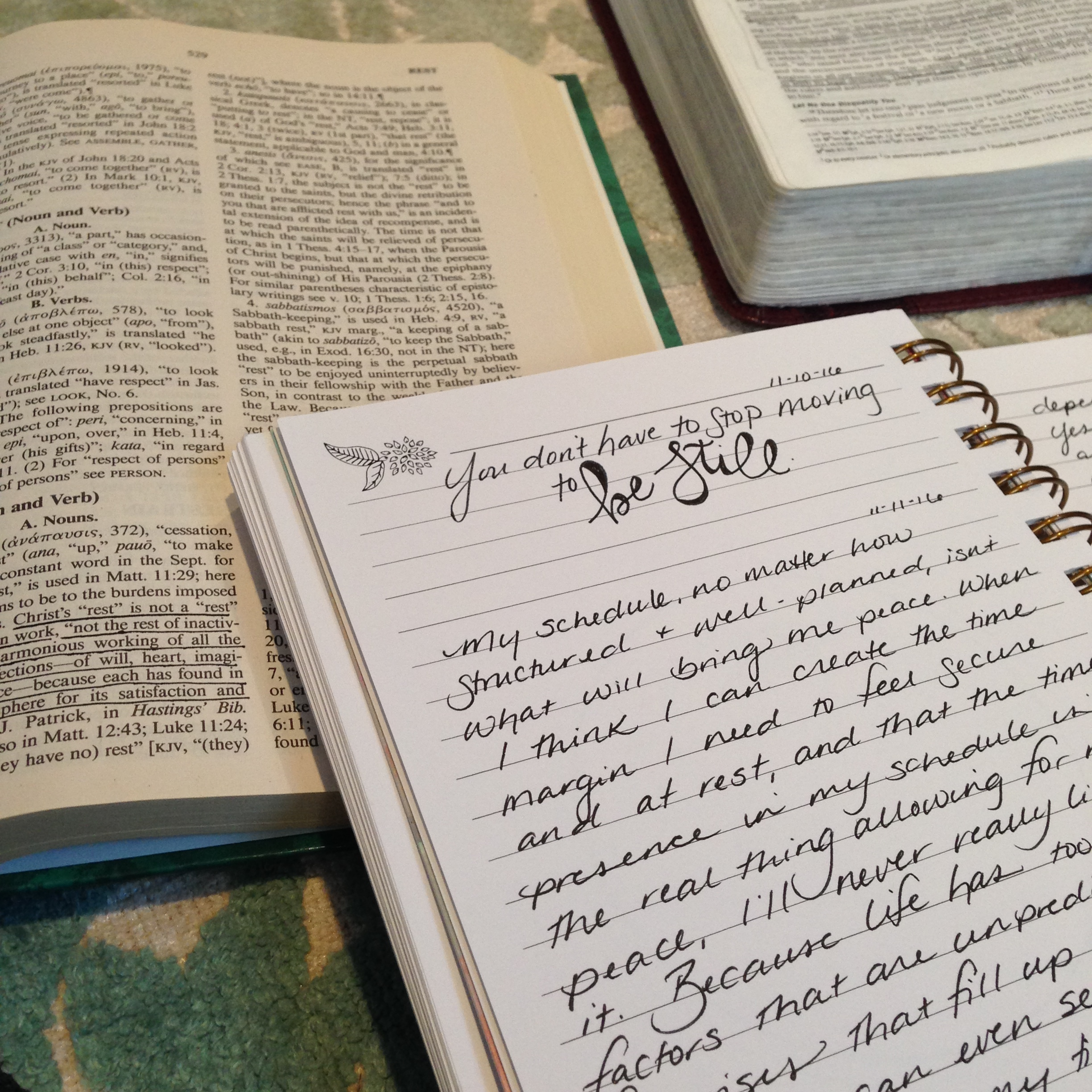 """{"""" Grace Upon Amazing Grace """" Journal by    Life Lived Beautifully   }"""