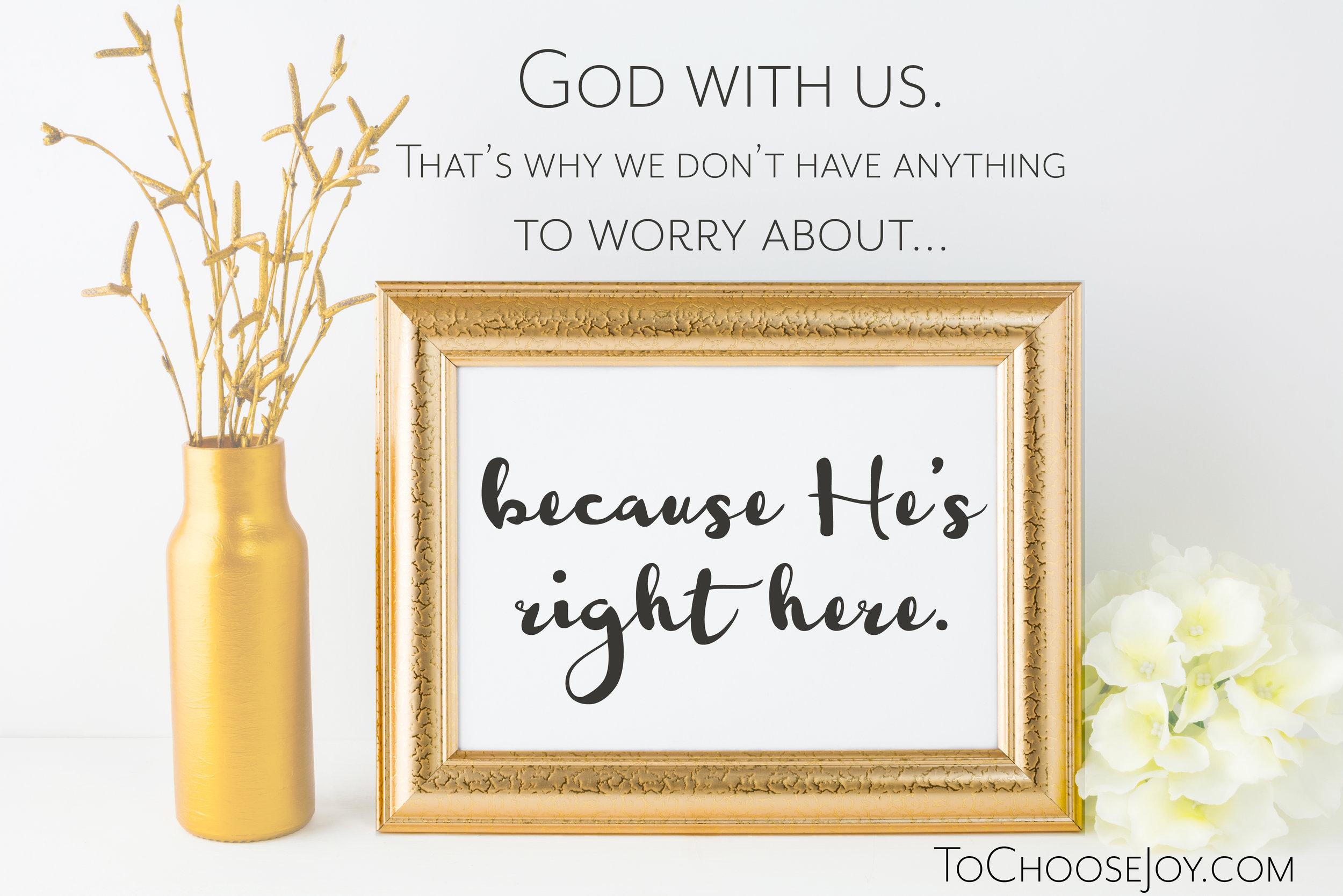 Emmanuel_God with Us_Advent_To Choose Joy