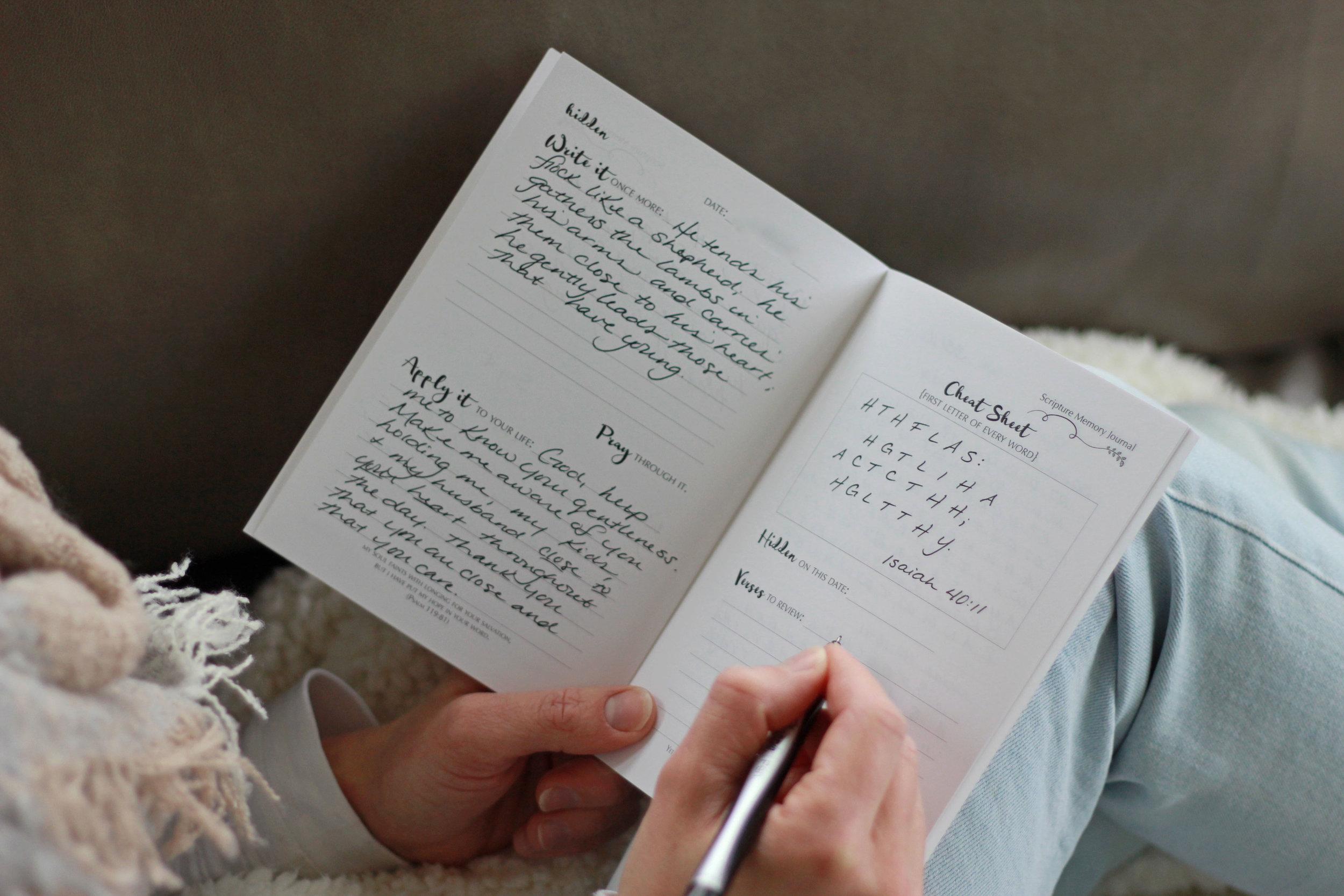 Hidden Scripture Memory Bible Verse Memorization