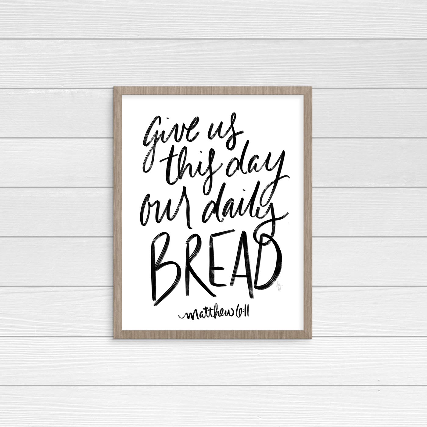 Find hand lettered wall art and Bible study resources in the Shop.