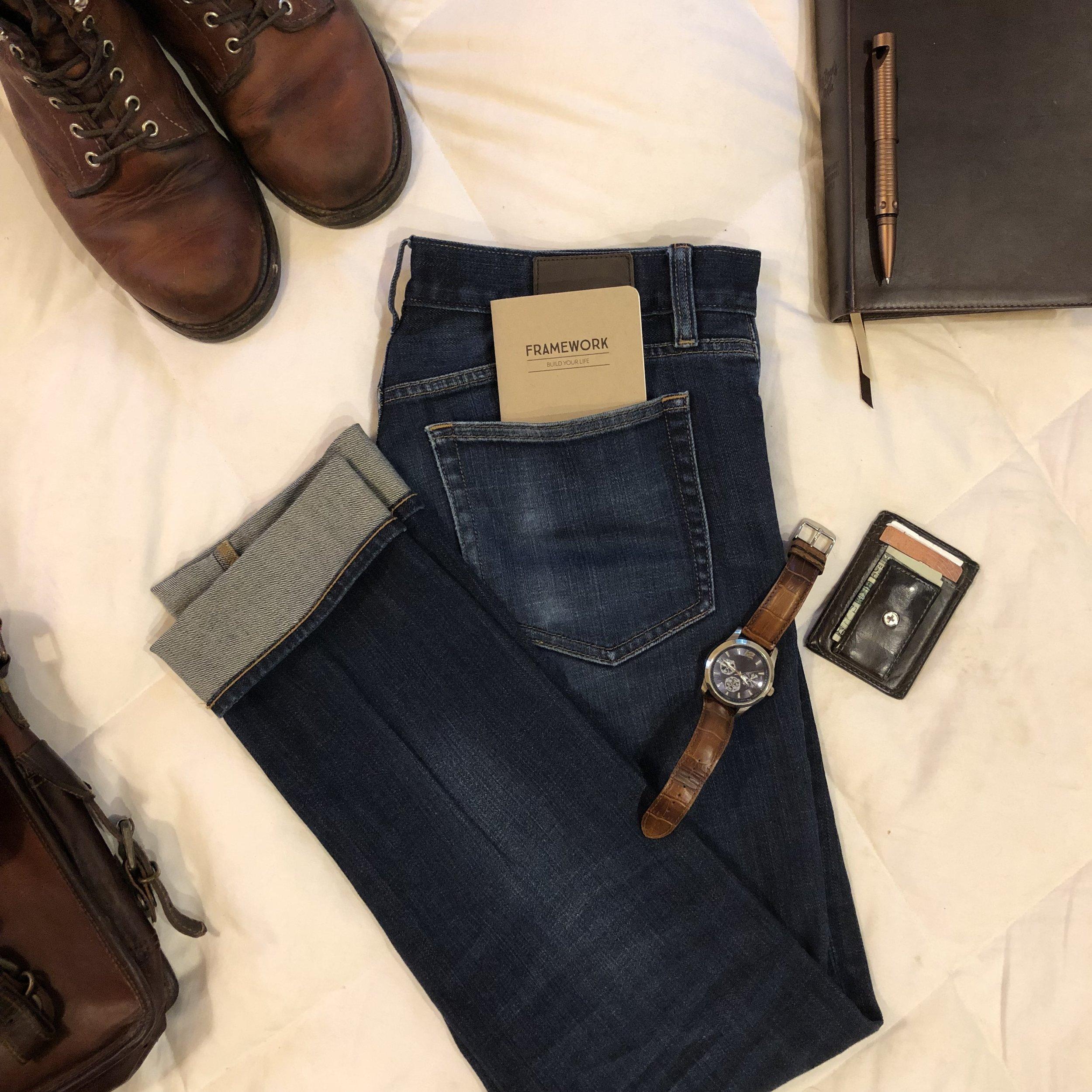 Framework Back-Pocket Bible Study Journal for Men He Reads Truth