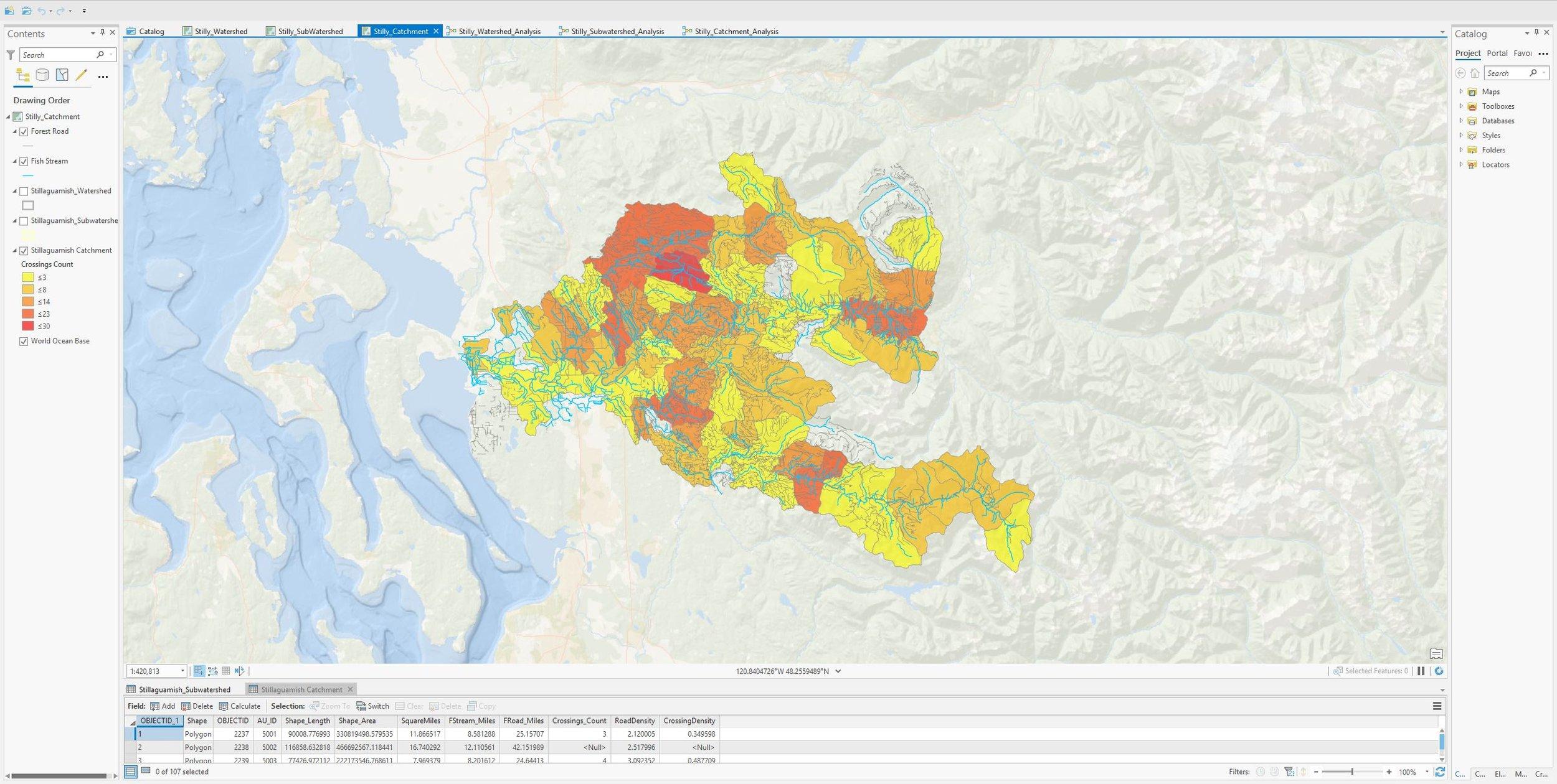Hitchner_ENVS421_Lab4_Stillaguamish_catchments_Map.JPG