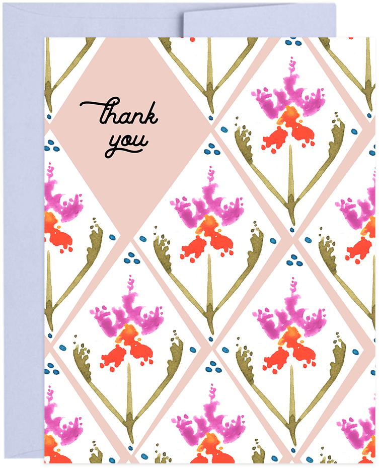 Greeting Card, Surface Pattern Design by Natasha Rose