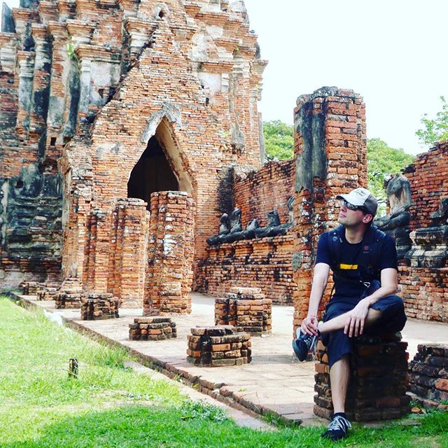 The temples in Ayutthaya are already impressive as ruins, hard to imagine how colorful and impressive this place must have been during the peak of its time.  #TempleTour #LostEmpire #ayutthaya #throwback