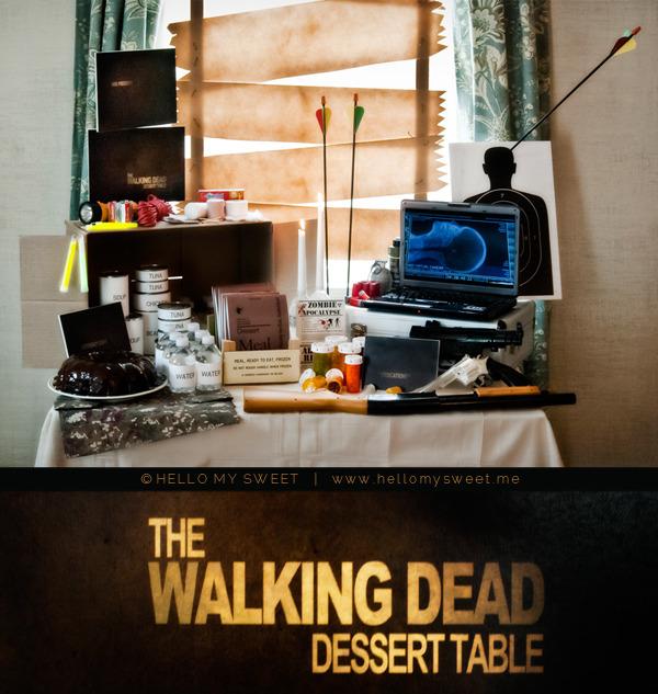 Walking Dead Zombie Party Printable Halloween Decor