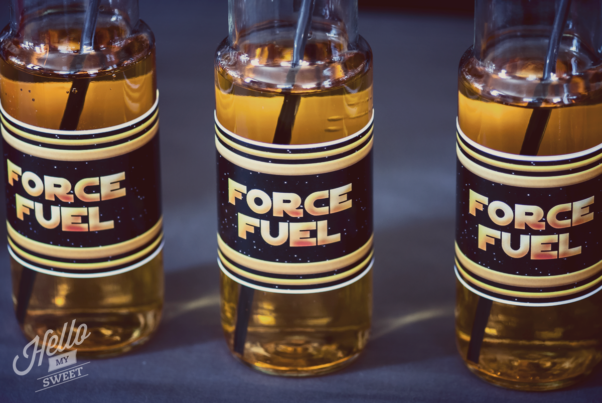 Star Wars Party - Printable Bottle Wraps