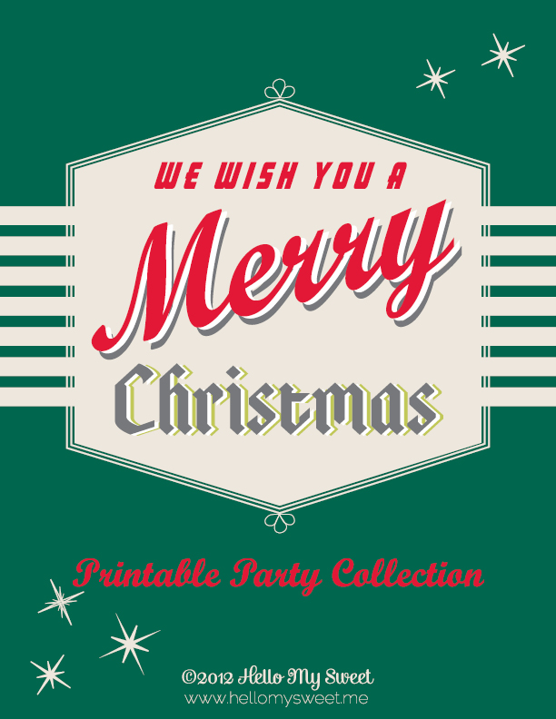 Click to download the Merry Christmas printable PDF.