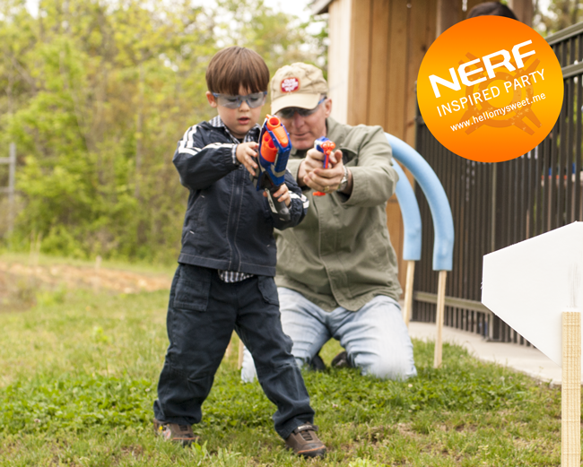 Nerf Birthday Party - Training Course