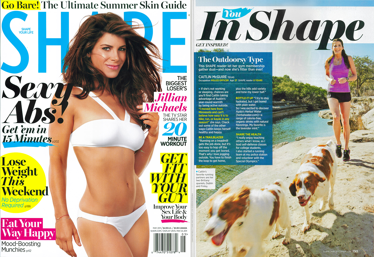 Shape Magazine | Editorial Photography | Christine Reilly Photography