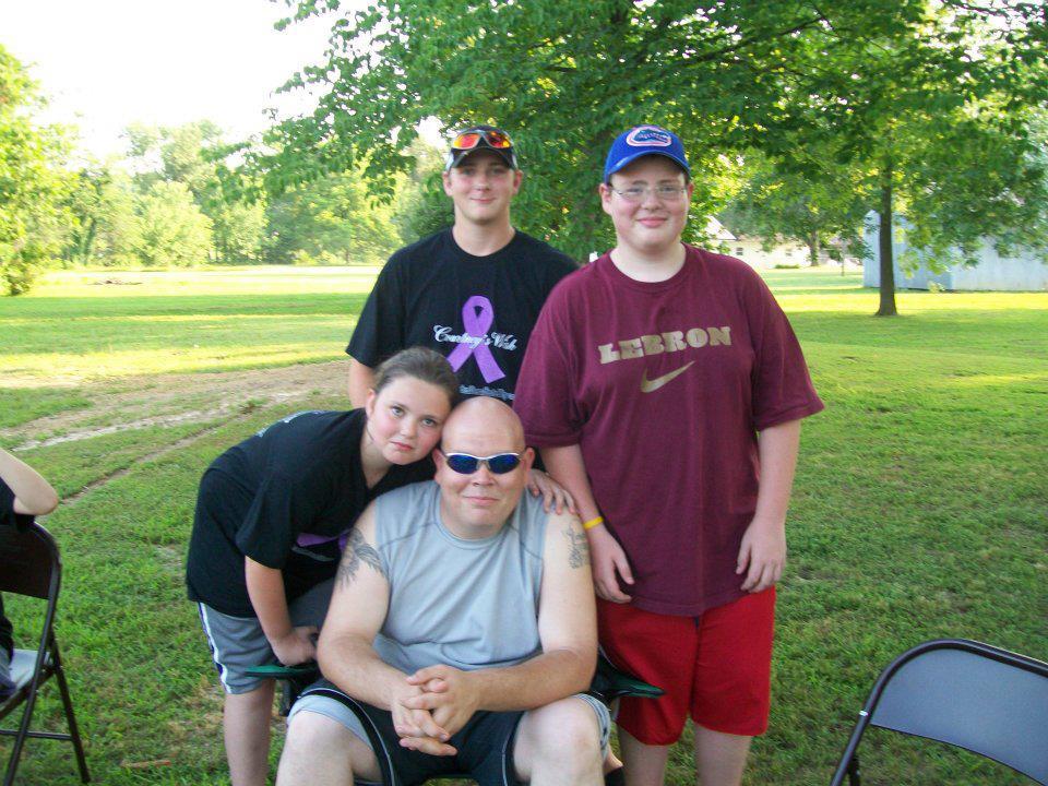 Chris Thorn - left behind wife & 3 kids