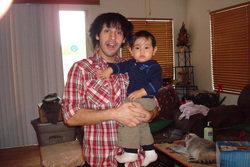 Aaron George Estrada & his son