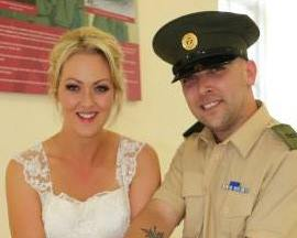 Karl McEneaney - diagnosed one month after his wedding