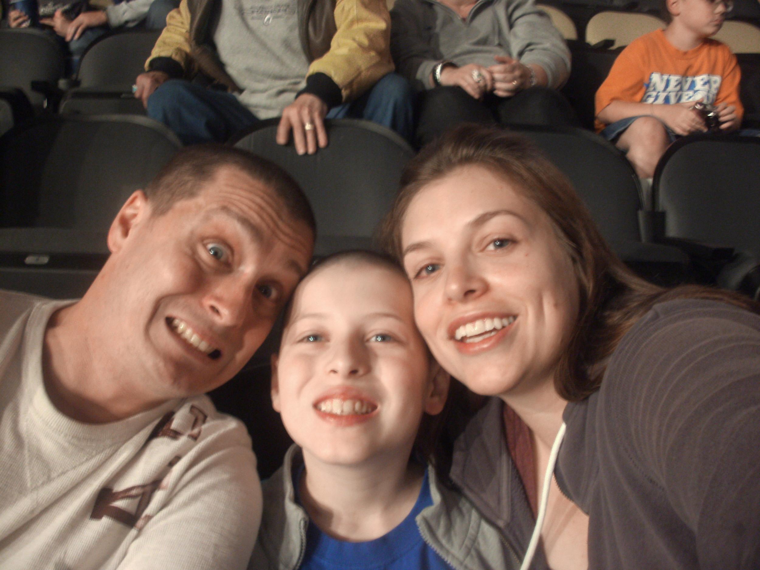 Joe Keslar - diagnosed at age 22, he is now a ten year survivor.