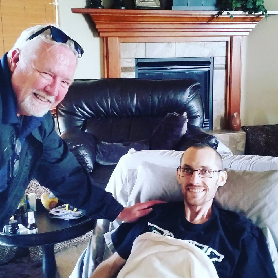 Dr. Craig Nichols, who is also a part of TCAF's medical advisory team, paid Jordan a final visit at the Jones family home in Grand Junction, CO. Jordan had the care and advice of the very best doctors, including also Dr. Einhorn (IU), and Dr. Feldman (MSKCC).