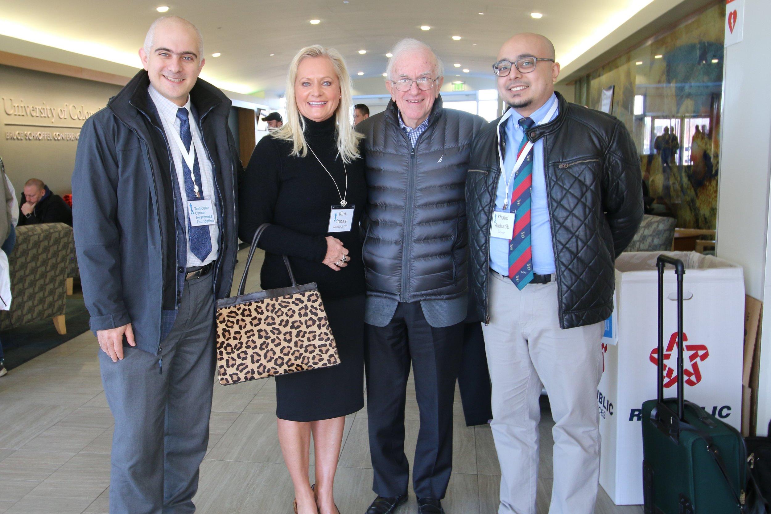 Dr. Albany, Kim, Dr. Einhorn, & Khalid.JPG