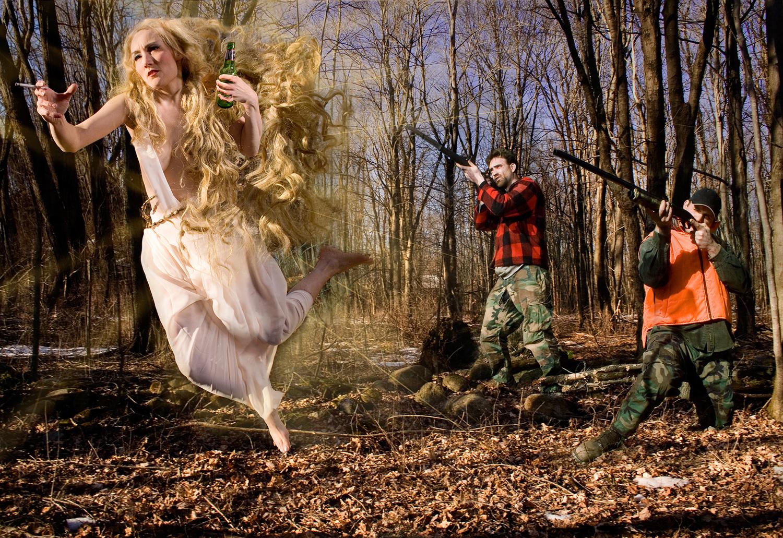 angel hunting