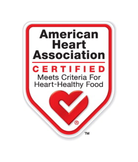 Certified by AHA as a heart healthy food in 2010