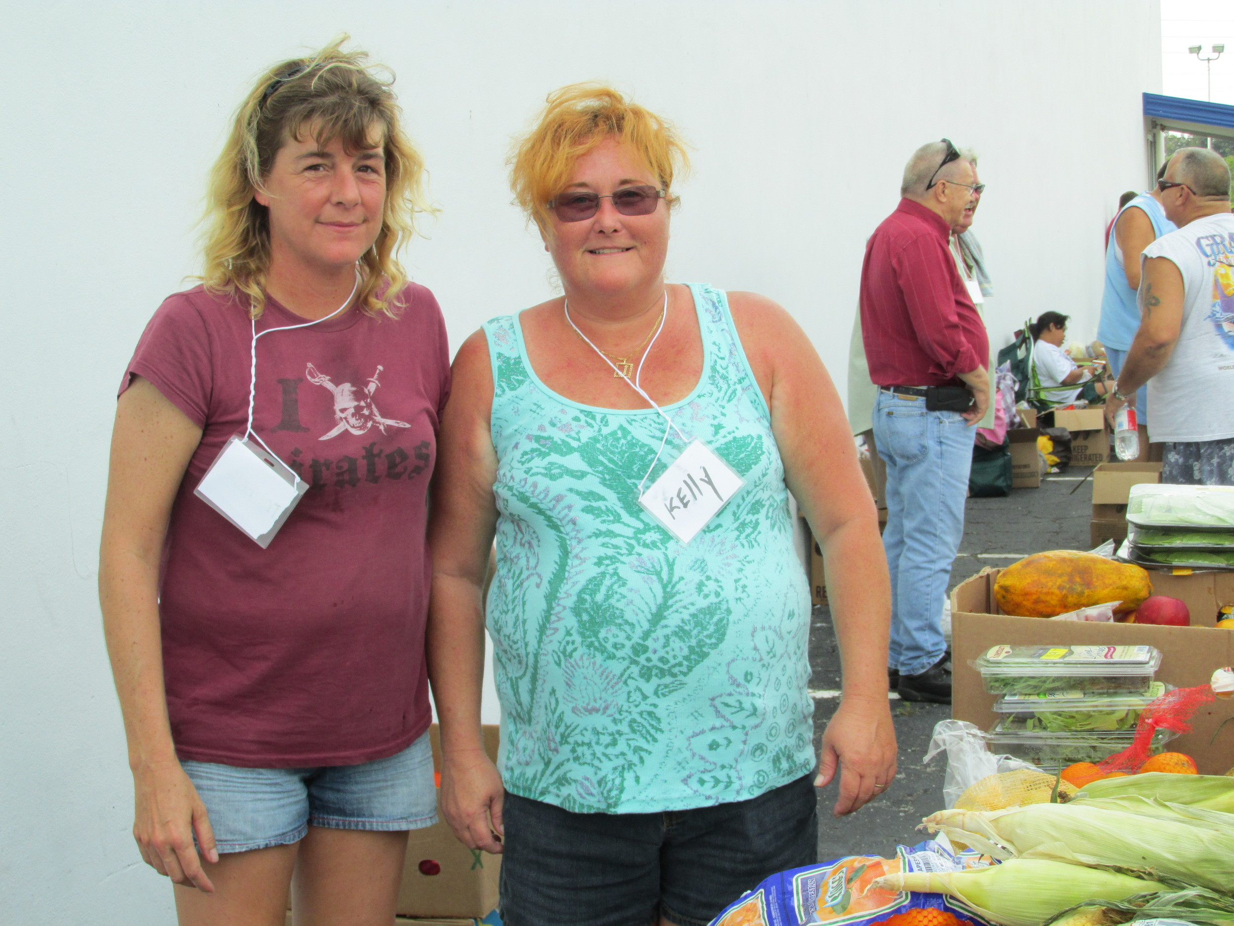 Volunteers at Bridge Christian Outreach