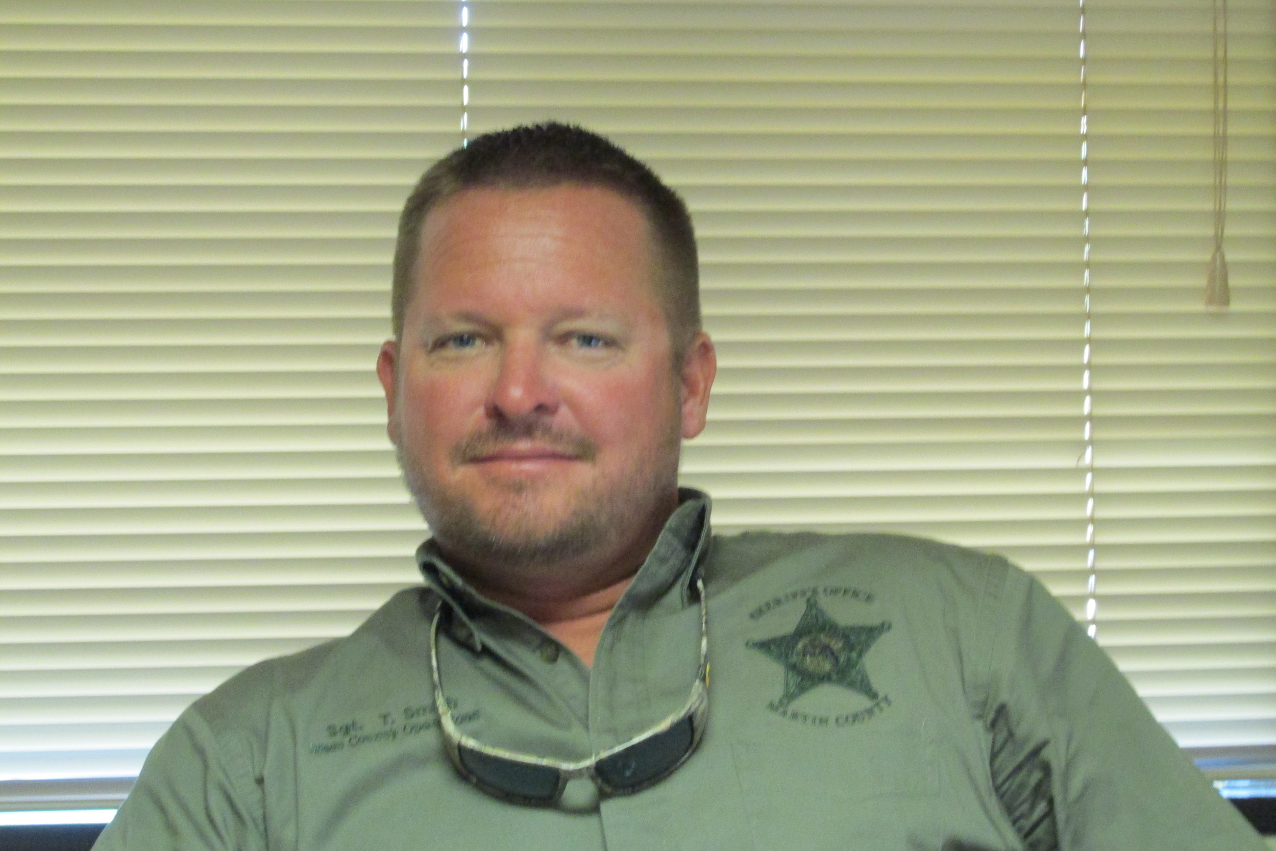 Sergeant Thomas Smith, Martin County Sheriff