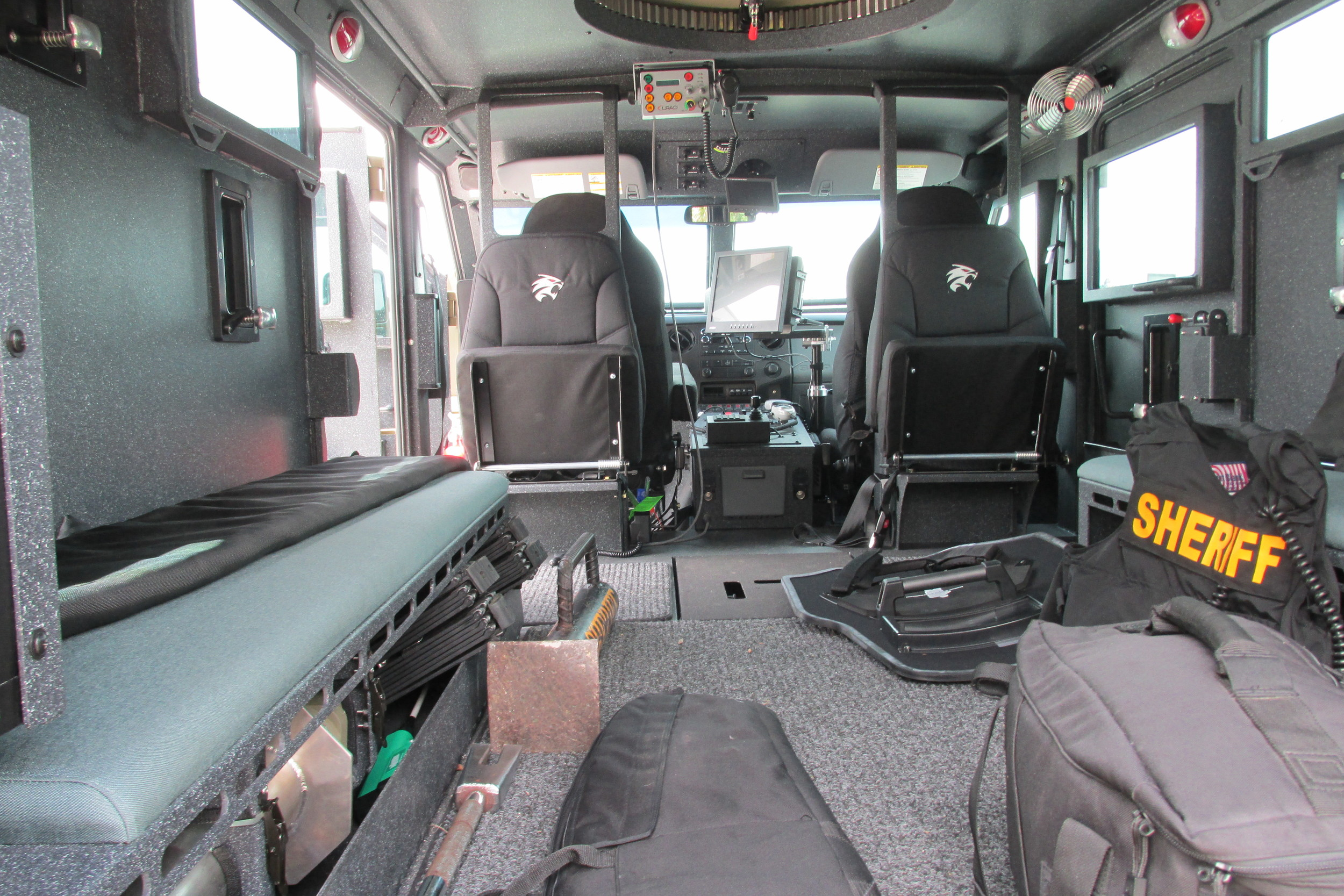 Inside the BearCat