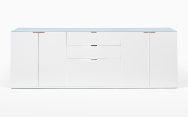 Custom Lacquered Office Credenza