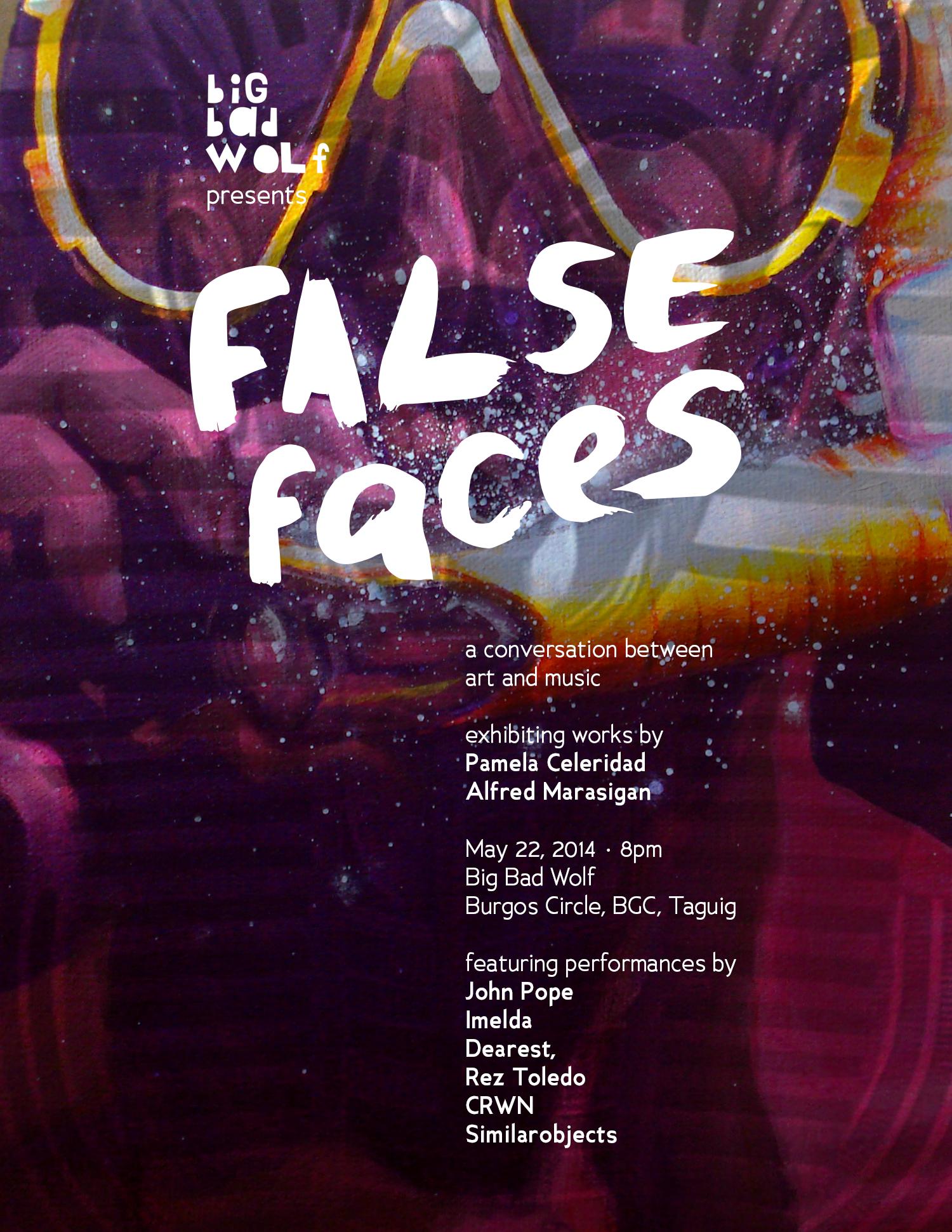 FalseFacesPoster