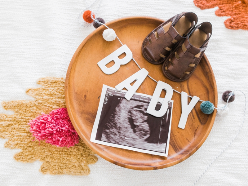 Lakeland, Florida Wagner Baby Announcement - Light & Airy Photographer | Ashley Holstein