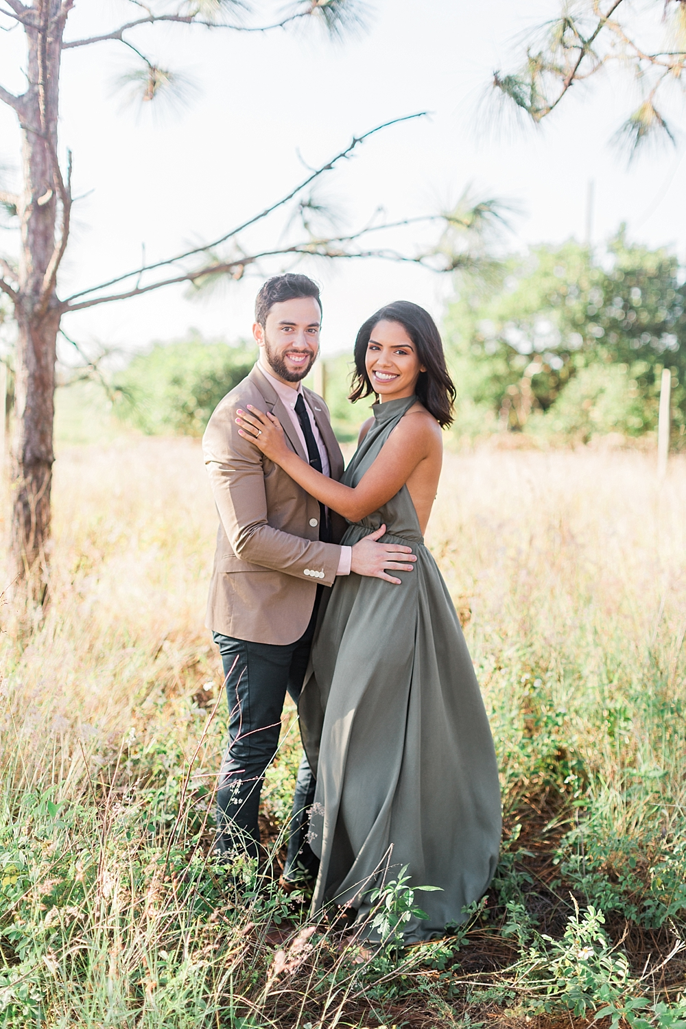 Janiece + Chris | The Sweetest Bok Tower Gardens Engagement Session | Ashley Holstein Film Photography