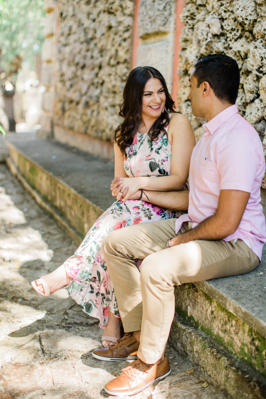 Engagement Session | Vizcaya Museum & Gardens | Timeless | Organic Imagery | Ashley Holstein Photography