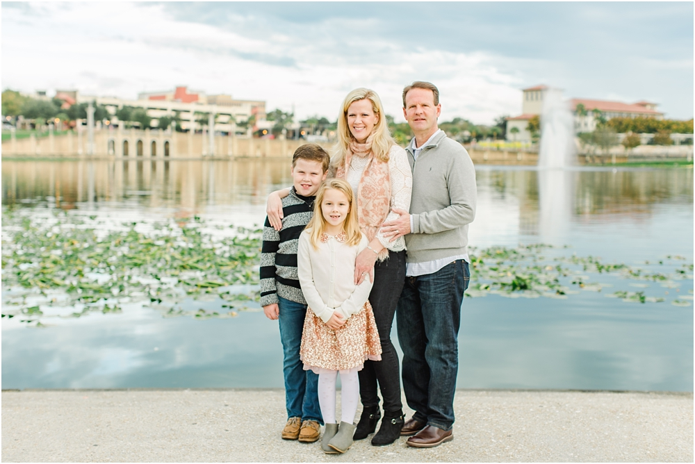 Ashley Holstein Photography | Lakeland Florida Family Pictures Hollis Gardens Lake Mirror
