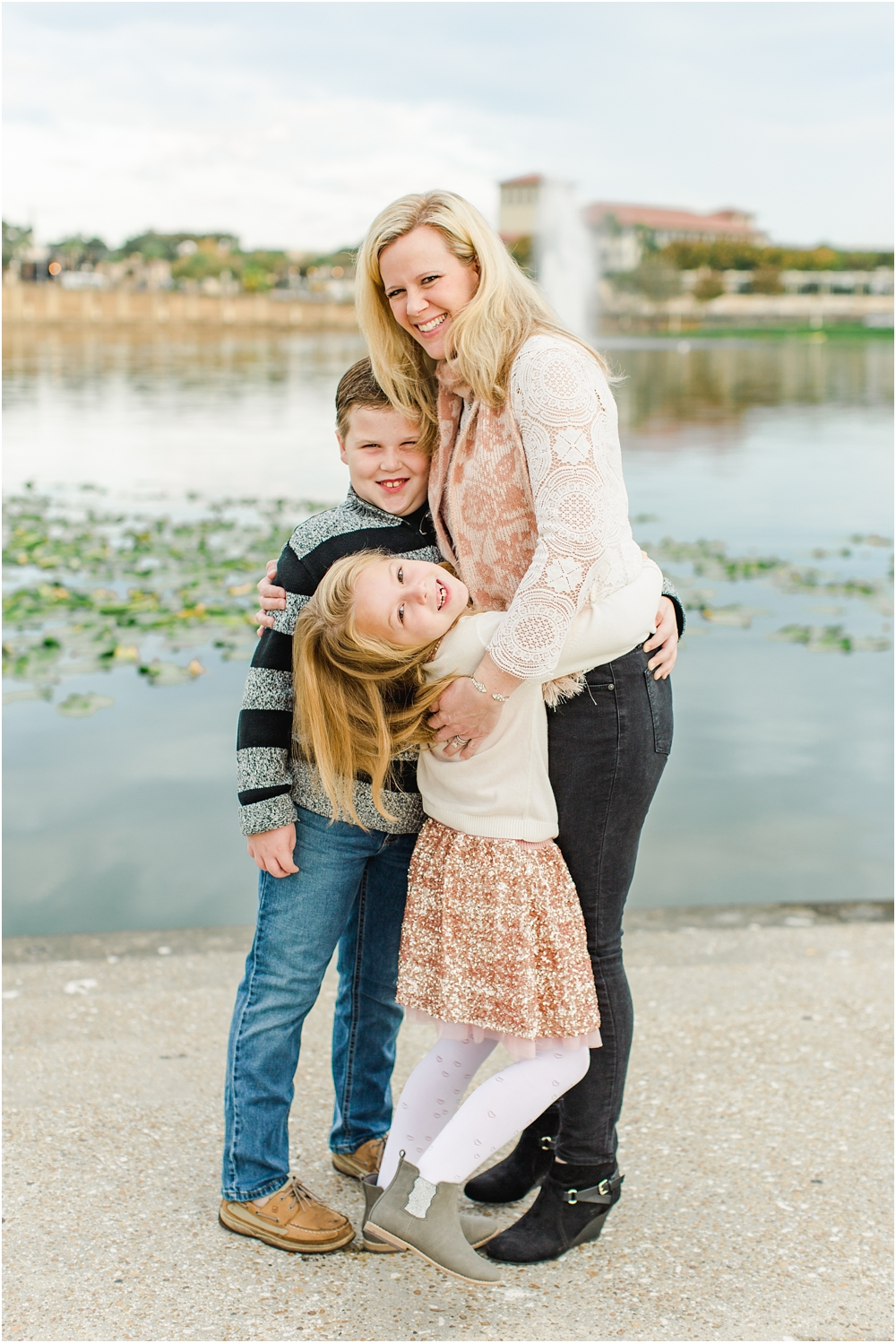 Ashley Holstein Photography | Lakeland Florida Family Photographer Hollis Gardens Lake Mirror