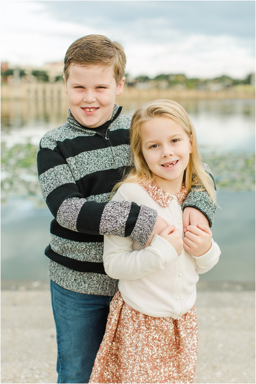 Ashley Holstein Photography | Lakeland Florida Family Photographer Lake Mirror