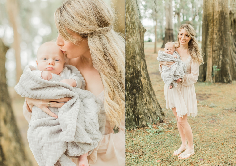 Newborn Film Photos | Orlando, Florida | Light & Airy | Ashley Holstein Photography