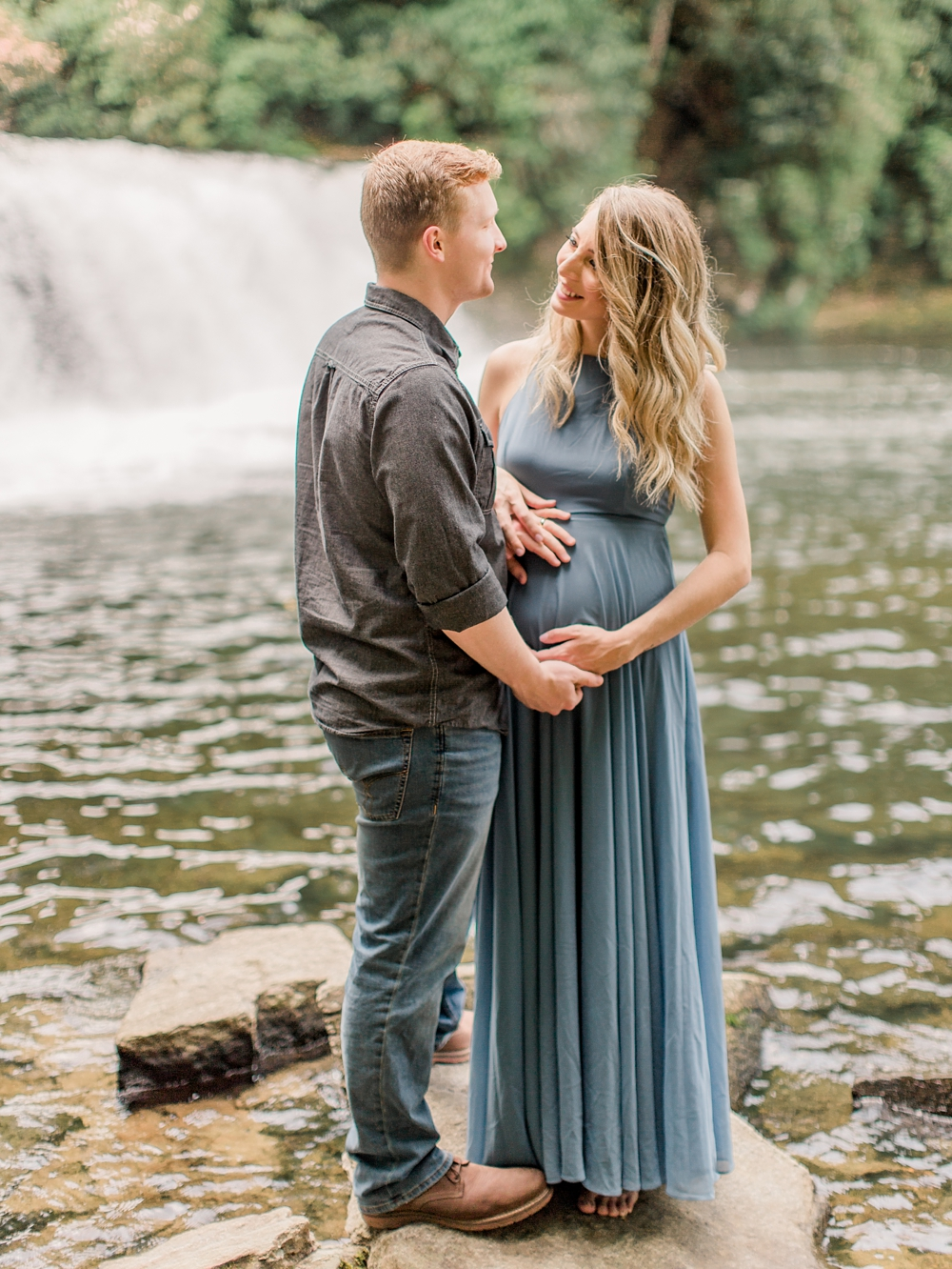 Maternity Photos | DuPont State Forest | Timeless | Fine Art Photographer | Ashley Holstein Photography