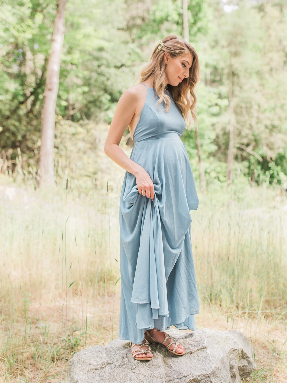 Maternity Session | DuPont State Forest | Hooker Falls North Carolina| Timeless | Ashley Holstein Photography