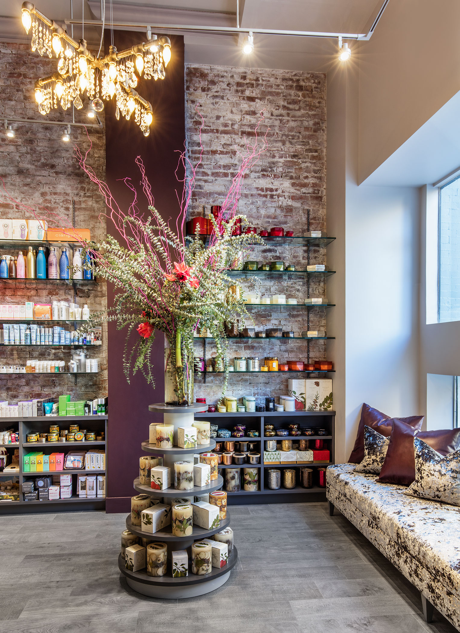 Retail Boutique at Haven Spa NYC