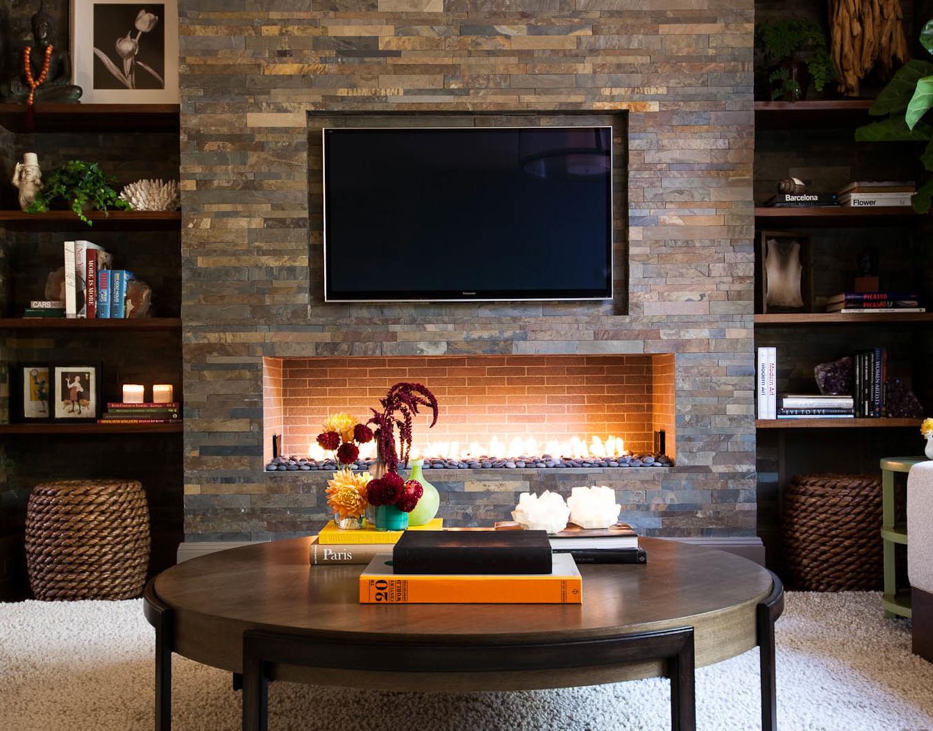 Studio Munroe Custom Interior Design Fireplace