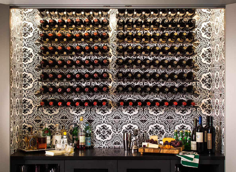 Studio Munroe Modern House Wine Bar Design