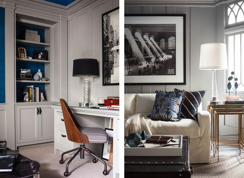 Studio Munroe Modern House Den Design