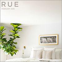 "Rue Magazine February 2016 ""Meet the Designer"""
