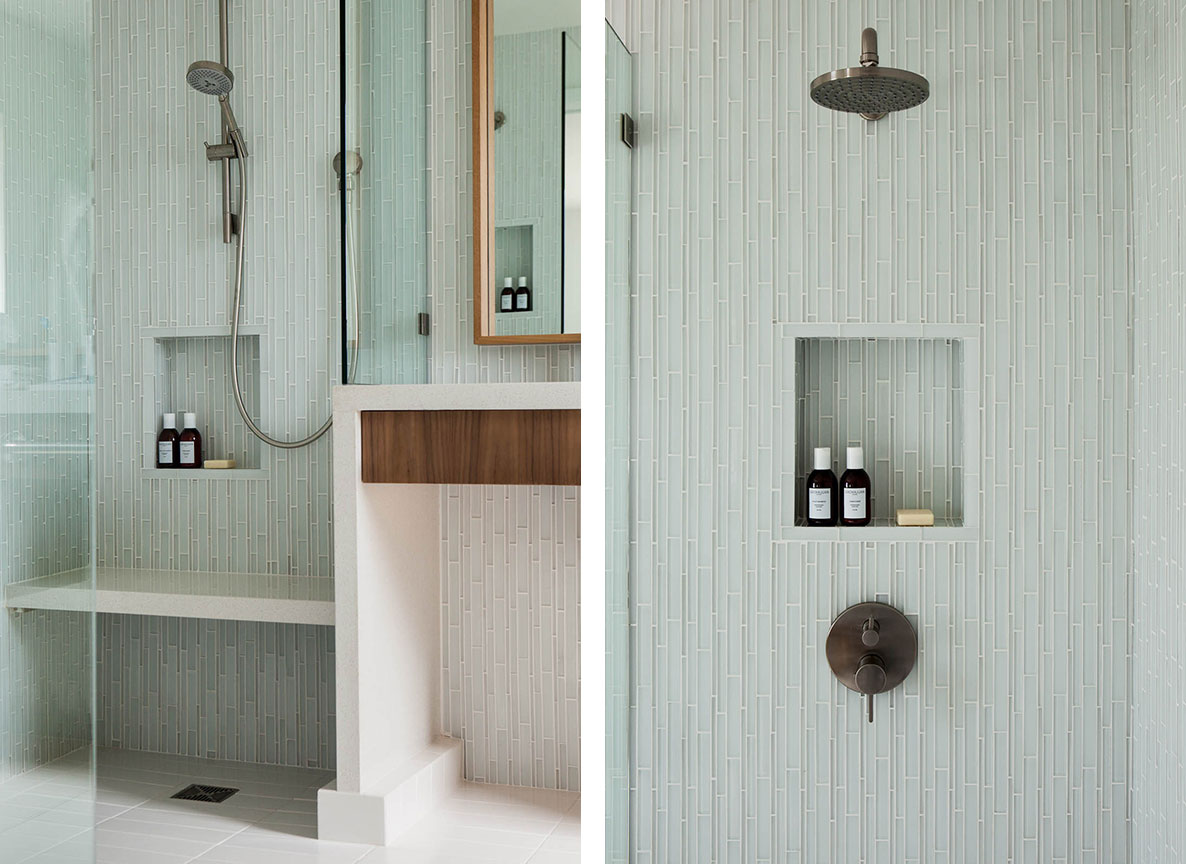 Studio Munroe Master Bathroom Tile Design