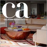 "California Home + Design Magazine June 2016 ""House Tour"""