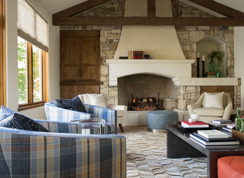 Studio Munroe Luxury Modern Estate Living Room