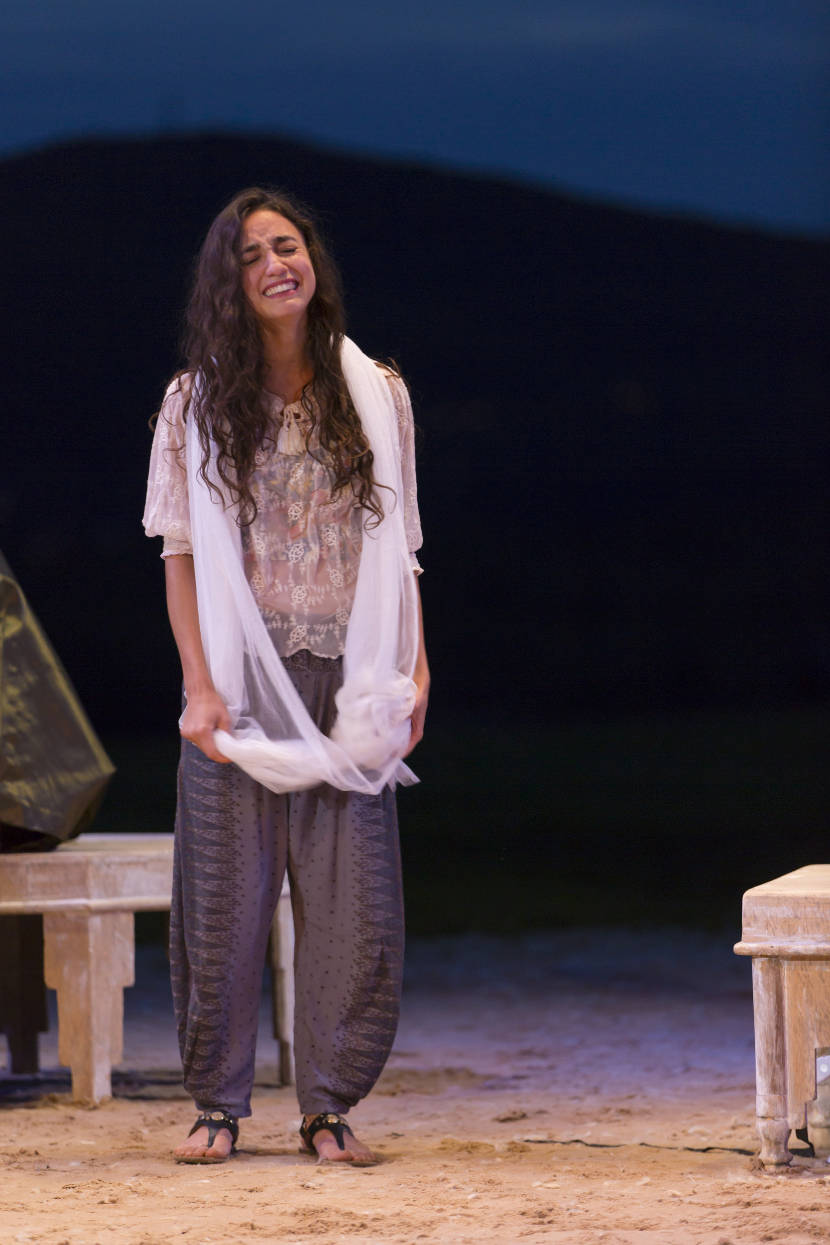 As GIRL in  Arabian Nights , Hudson Valley Shakespeare Festival, 2015